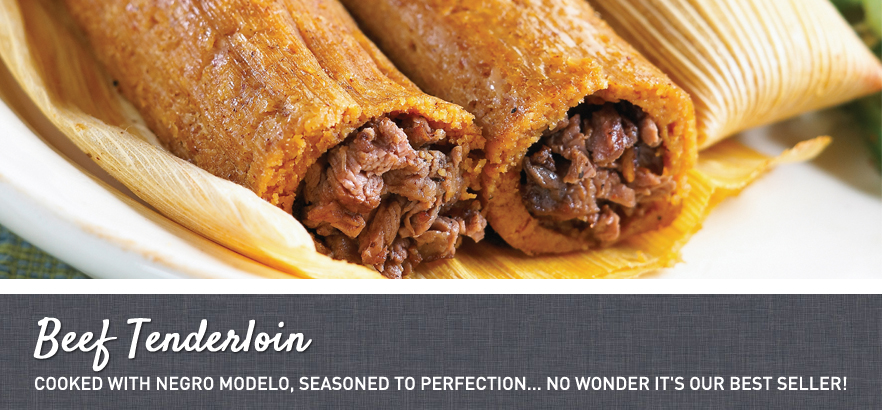 Beef Tenderloin Tamales